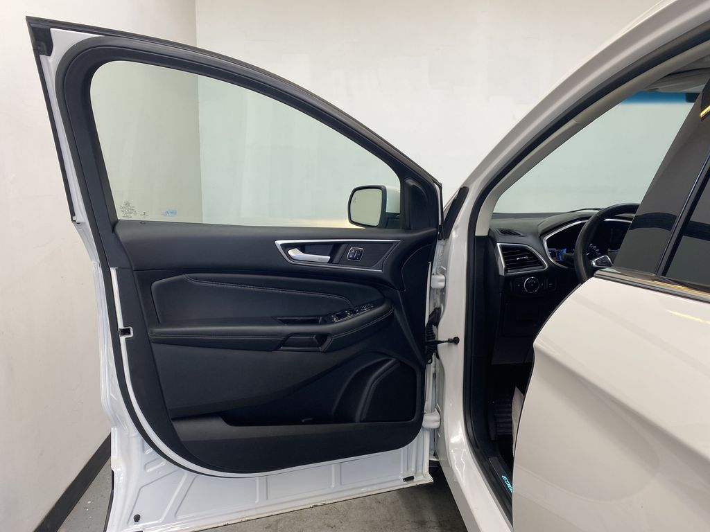 WHITE 2017 Ford Edge Titanium - NAV, Apple CarPlay, Remote Start Left Front Interior Door Panel Photo in Edmonton AB