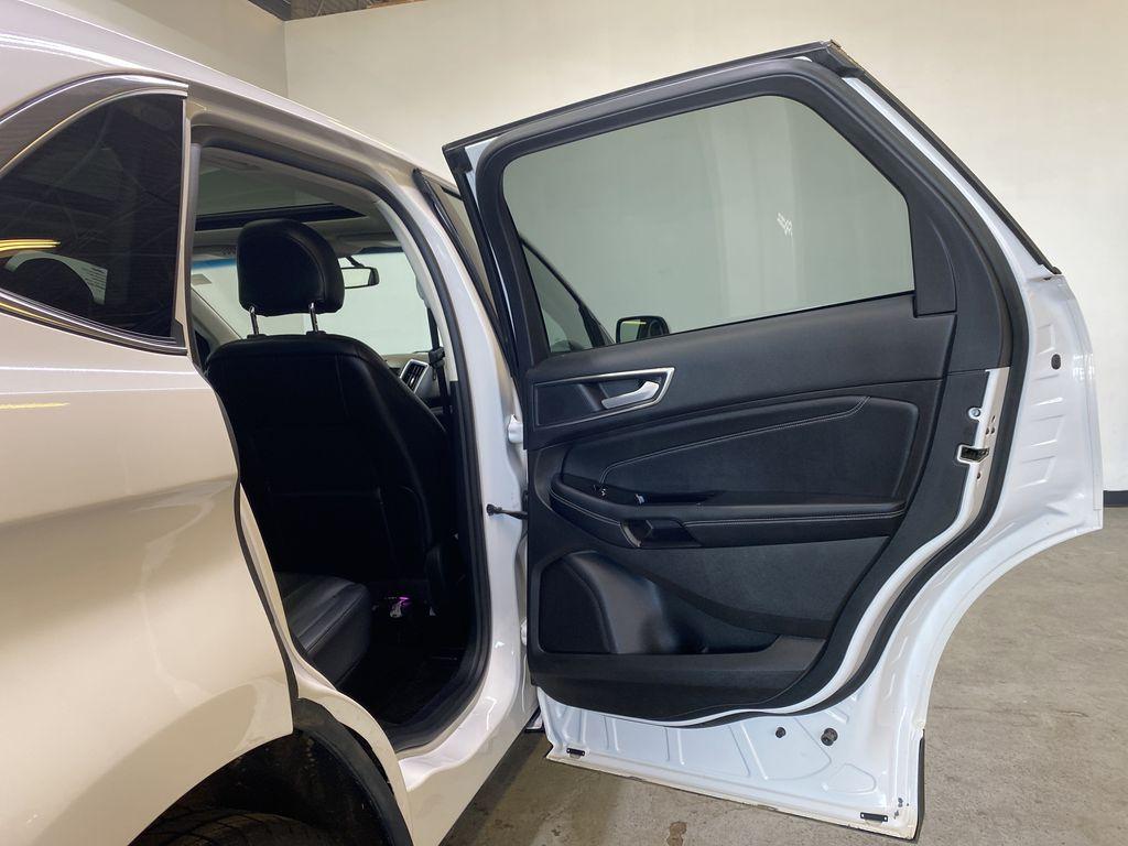 WHITE 2017 Ford Edge Titanium - NAV, Apple CarPlay, Remote Start Right Rear Interior Door Panel Photo in Edmonton AB