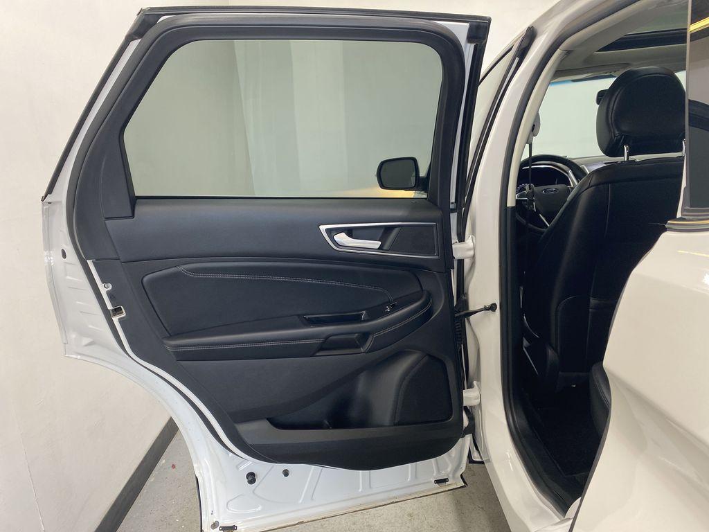 WHITE 2017 Ford Edge Titanium - NAV, Apple CarPlay, Remote Start Left Rear Interior Door Panel Photo in Edmonton AB