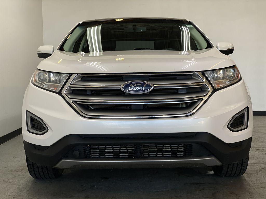WHITE 2017 Ford Edge Titanium - NAV, Apple CarPlay, Remote Start Front Vehicle Photo in Edmonton AB