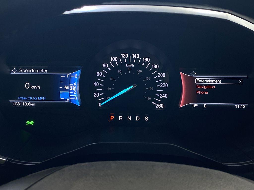 WHITE 2017 Ford Edge Titanium - NAV, Apple CarPlay, Remote Start Odometer Photo in Edmonton AB