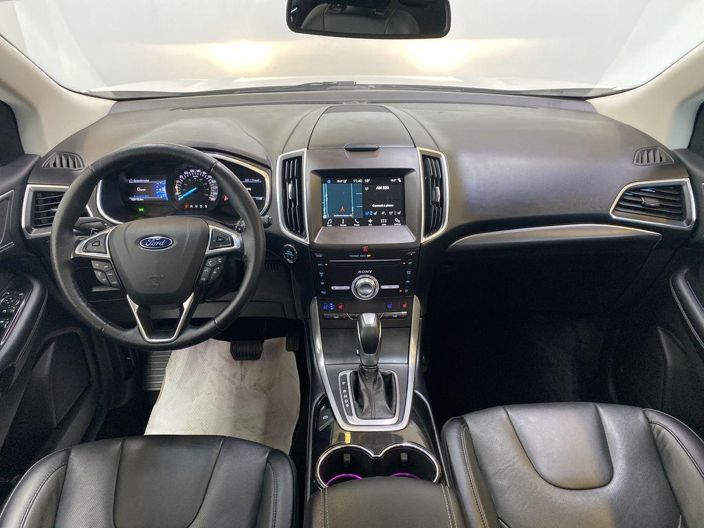 WHITE 2017 Ford Edge Titanium - NAV, Apple CarPlay, Remote Start Strng Wheel/Dash Photo: Frm Rear in Edmonton AB