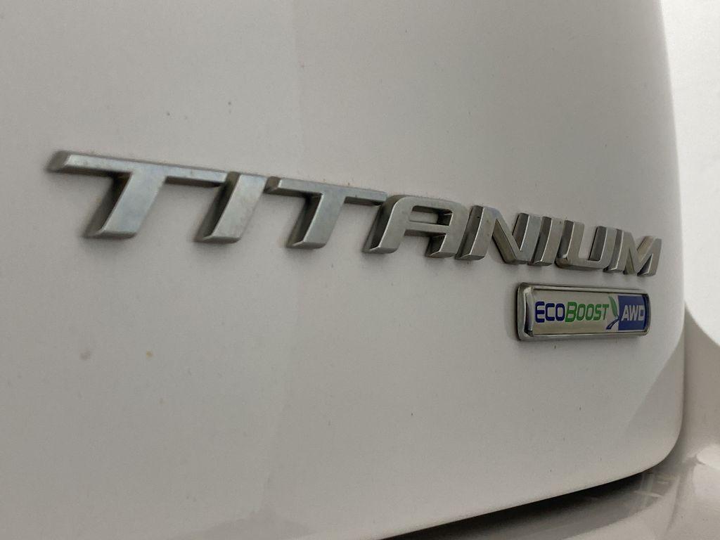 WHITE 2017 Ford Edge Titanium - NAV, Apple CarPlay, Remote Start Trim Specific Photo in Edmonton AB
