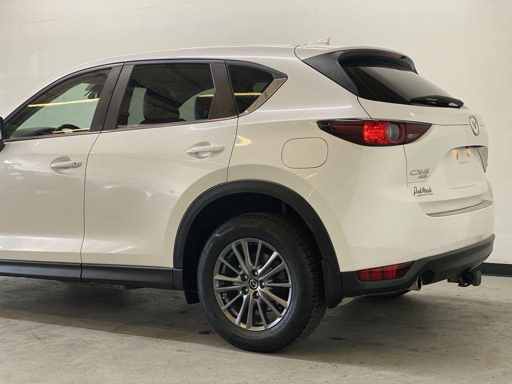 WHITE 2017 Mazda CX-5 GS AWD - Remote Start, Backup Camera, Bluetooth Left Rear Corner Photo in Edmonton AB