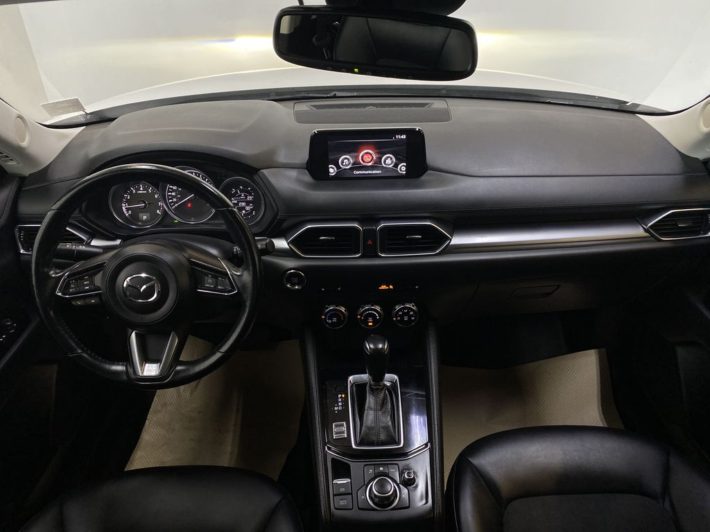 WHITE 2017 Mazda CX-5 GS AWD - Remote Start, Backup Camera, Bluetooth Strng Wheel/Dash Photo: Frm Rear in Edmonton AB