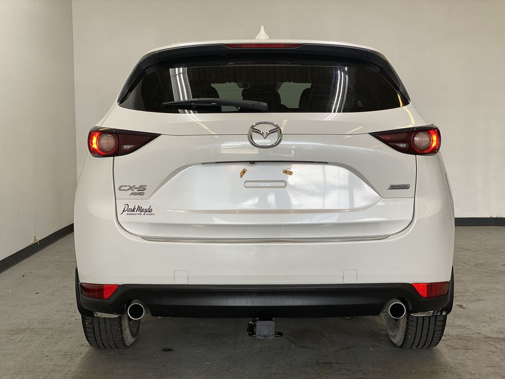 WHITE 2017 Mazda CX-5 GS AWD - Remote Start, Backup Camera, Bluetooth Rear of Vehicle Photo in Edmonton AB
