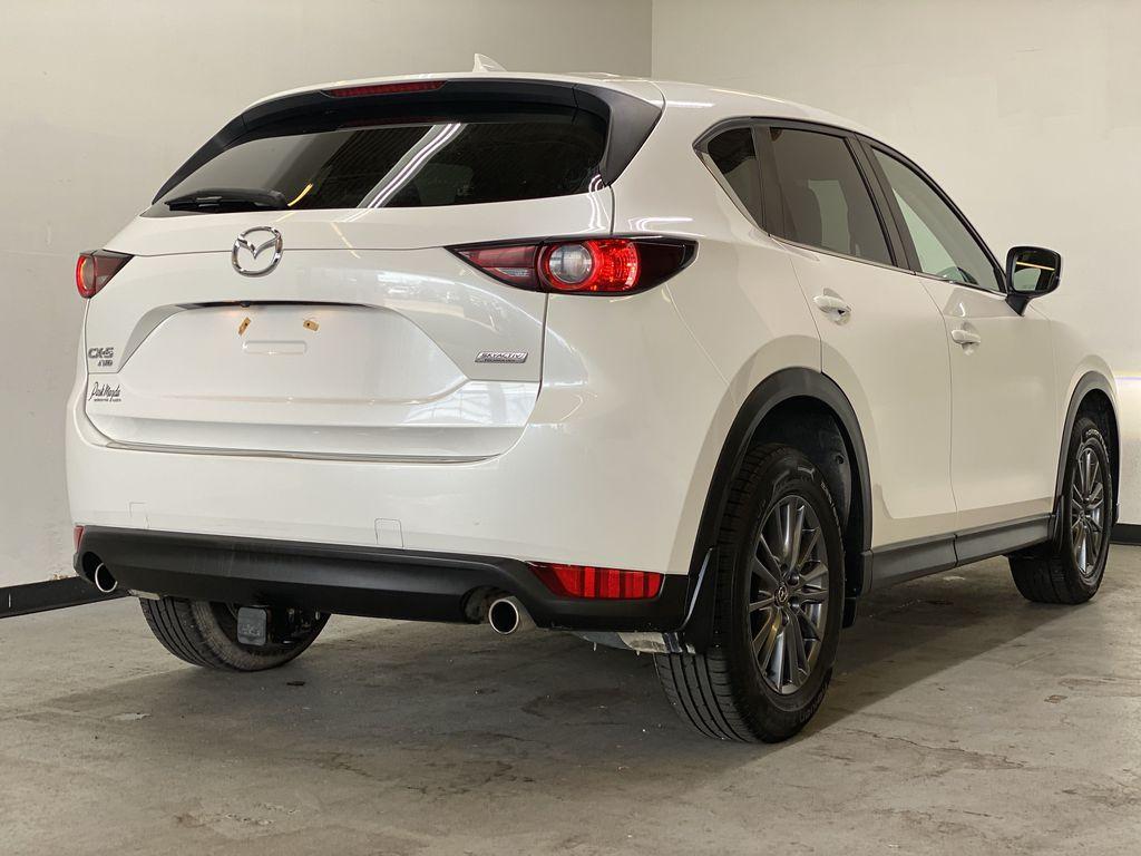 WHITE 2017 Mazda CX-5 GS AWD - Remote Start, Backup Camera, Bluetooth Right Rear Corner Photo in Edmonton AB