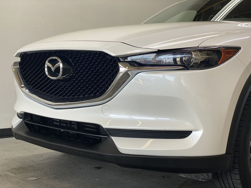WHITE 2017 Mazda CX-5 GS AWD - Remote Start, Backup Camera, Bluetooth Left Front Head Light / Bumper and Grill in Edmonton AB
