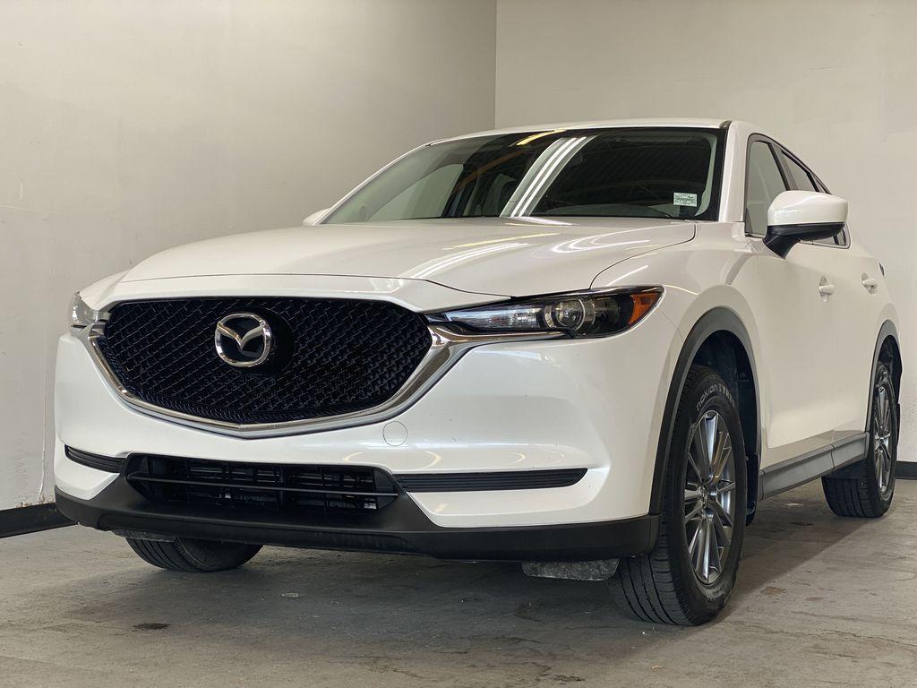 WHITE 2017 Mazda CX-5 GS AWD - Remote Start, Backup Camera, Bluetooth Left Front Corner Photo in Edmonton AB