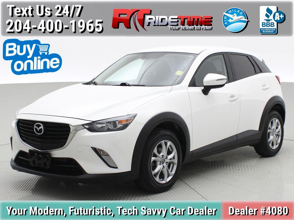White[Crystal White Pearl] 2016 Mazda CX-3 GS AWD - Bluetooth, Heated Seats, Backup Camera