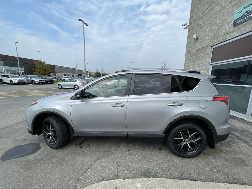 Silver 2017 Toyota RAV4 Left Front Rim and Tire Photo in Brampton ON
