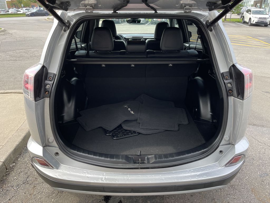 Silver 2017 Toyota RAV4 Left Rear Corner Photo in Brampton ON
