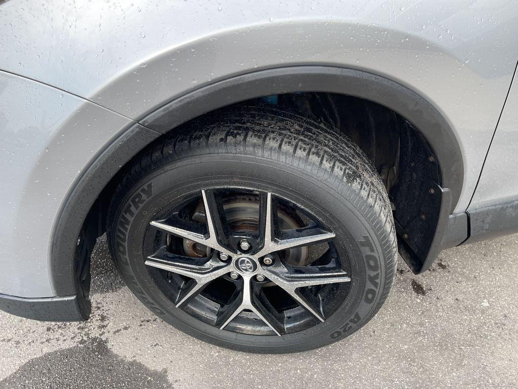 Silver 2017 Toyota RAV4 Left Front Corner Photo in Brampton ON