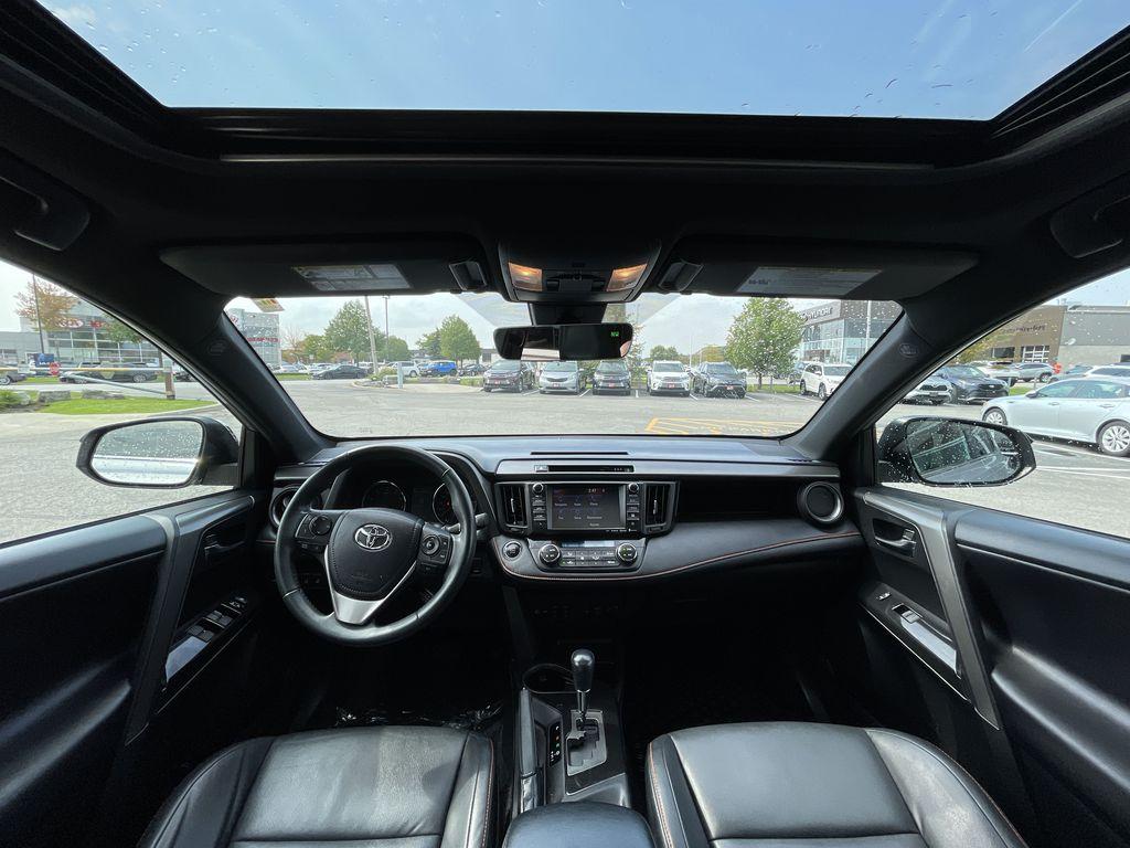 Silver 2017 Toyota RAV4 Right Side Rear Seat  Photo in Brampton ON