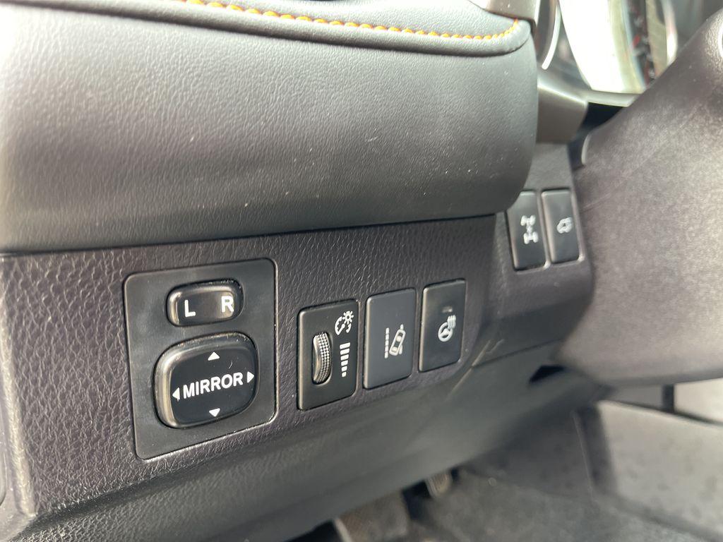 Silver 2017 Toyota RAV4 Navigation Screen Closeup Photo in Brampton ON