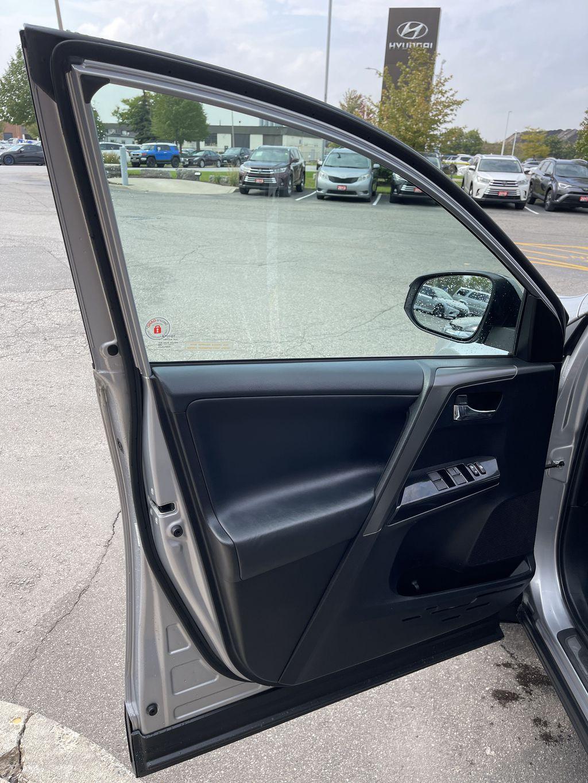 Silver 2017 Toyota RAV4 Left Rear Interior Door Panel Photo in Brampton ON