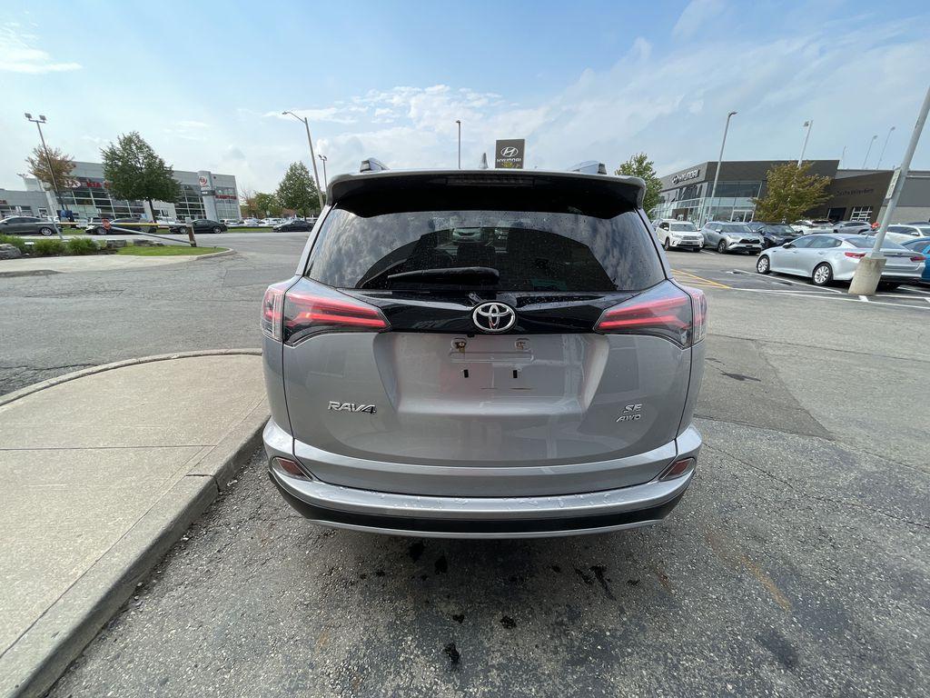 Silver 2017 Toyota RAV4 Left Front Interior Photo in Brampton ON