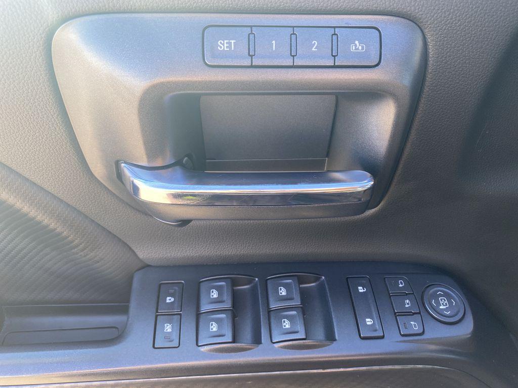 Gray[Dark Slate Metallic] 2018 GMC Sierra 1500  Driver's Side Door Controls Photo in Edmonton AB