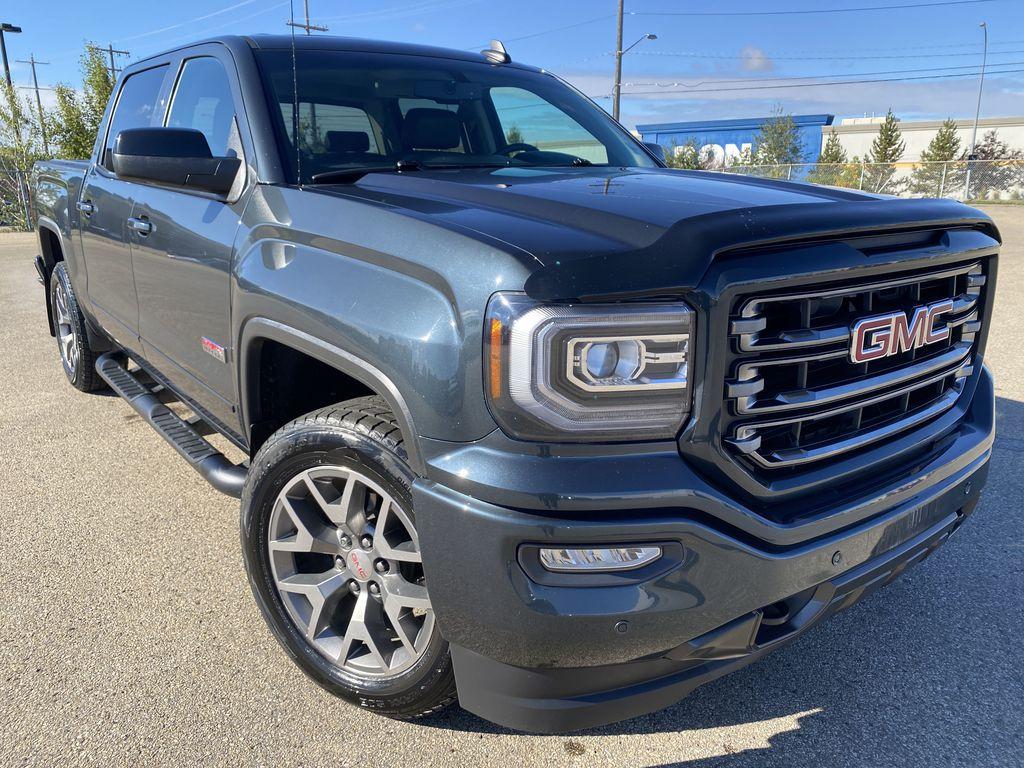 Gray[Dark Slate Metallic] 2018 GMC Sierra 1500 Right Front Corner Photo in Edmonton AB