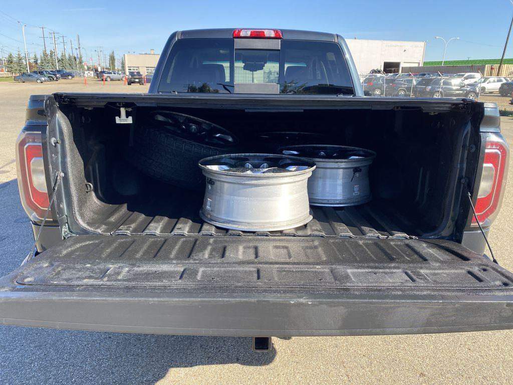 Gray[Dark Slate Metallic] 2018 GMC Sierra 1500 Trunk / Cargo Area Photo in Edmonton AB