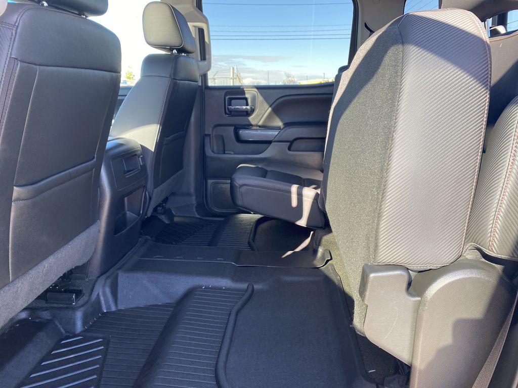 Gray[Dark Slate Metallic] 2018 GMC Sierra 1500 Rear Seat: Cargo/Storage Photo in Edmonton AB