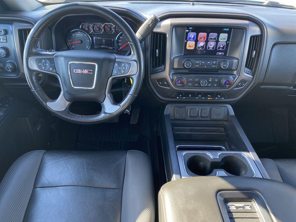 Gray[Dark Slate Metallic] 2018 GMC Sierra 1500 Strng Wheel/Dash Photo: Frm Rear in Edmonton AB