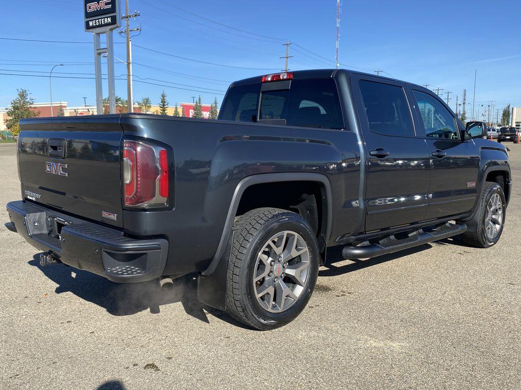 Gray[Dark Slate Metallic] 2018 GMC Sierra 1500 Right Rear Corner Photo in Edmonton AB