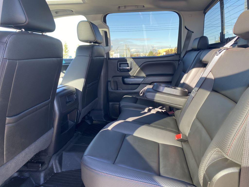 Gray[Dark Slate Metallic] 2018 GMC Sierra 1500 Left Side Rear Seat  Photo in Edmonton AB