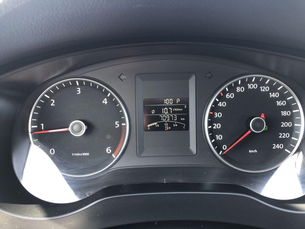 Brown[Toffee Brown Metallic] 2012 Volkswagen Jetta Sedan Odometer Photo in Edmonton AB