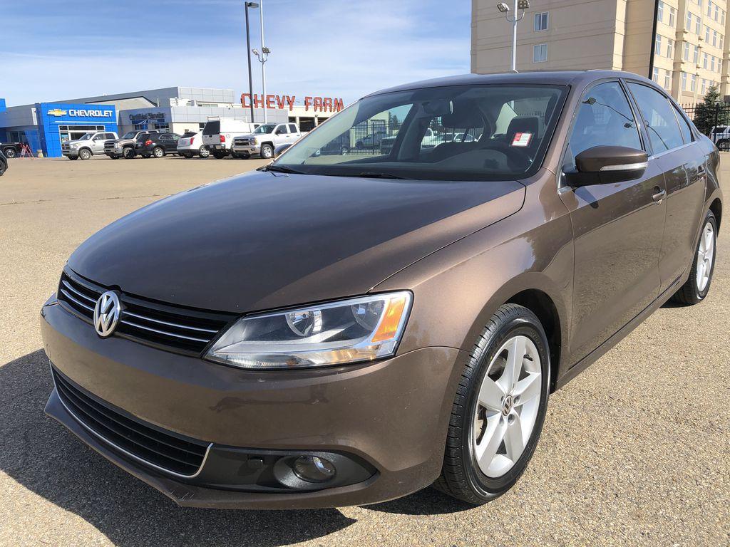Brown[Toffee Brown Metallic] 2012 Volkswagen Jetta Sedan Left Front Corner Photo in Edmonton AB