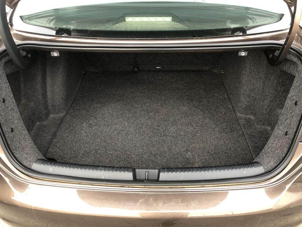 Brown[Toffee Brown Metallic] 2012 Volkswagen Jetta Sedan Trunk / Cargo Area Photo in Edmonton AB