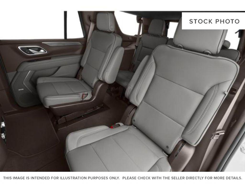Onyx Black 2021 GMC Yukon Left Side Rear Seat  Photo in Oshawa ON