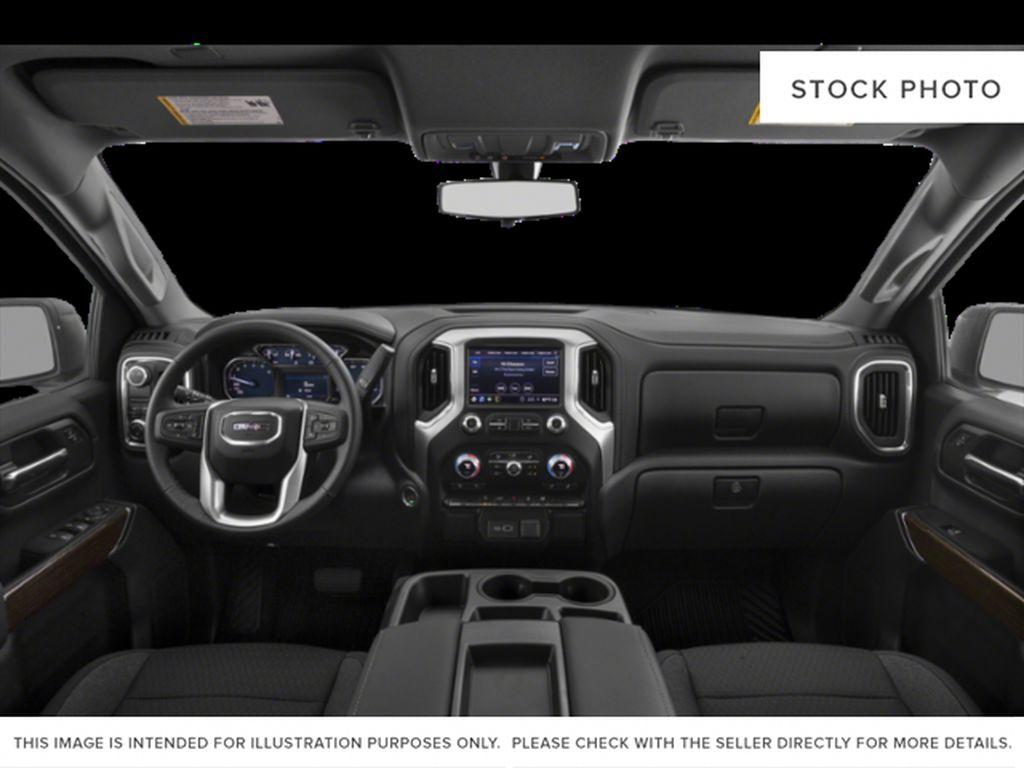 Onyx Black 2021 GMC Sierra 1500 Strng Wheel/Dash Photo: Frm Rear in Oshawa ON