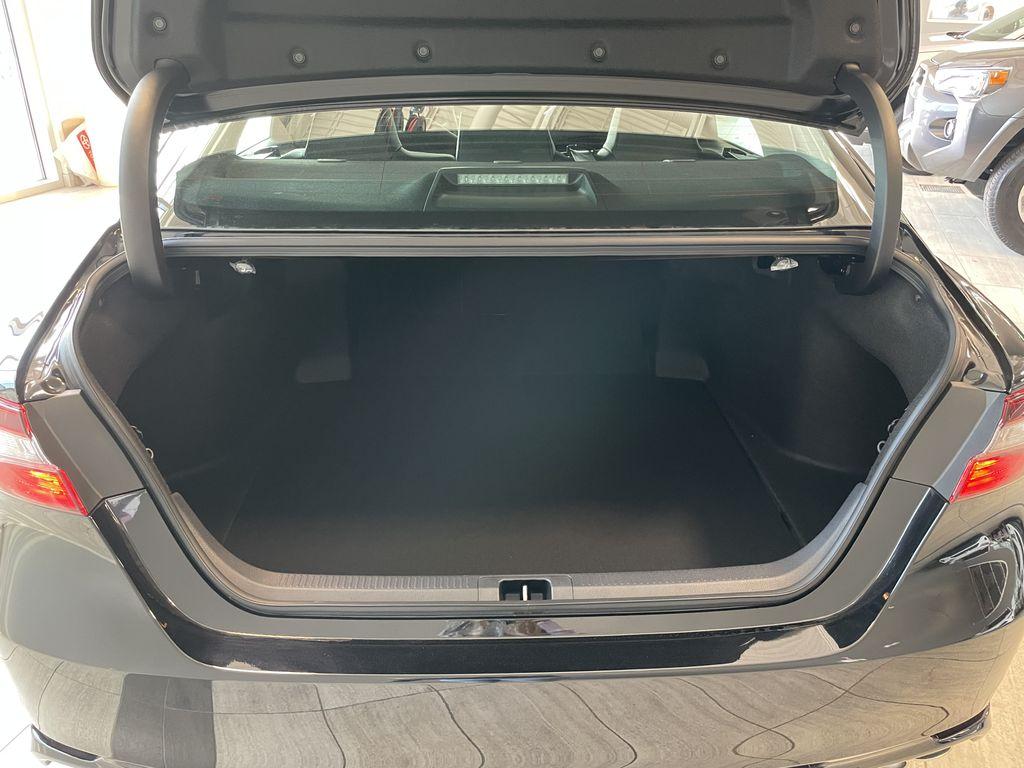Midnight Black Metallic 2021 Toyota Camry SE AWD Nightshade Left Driver Controlled Options Photo in Edmonton AB
