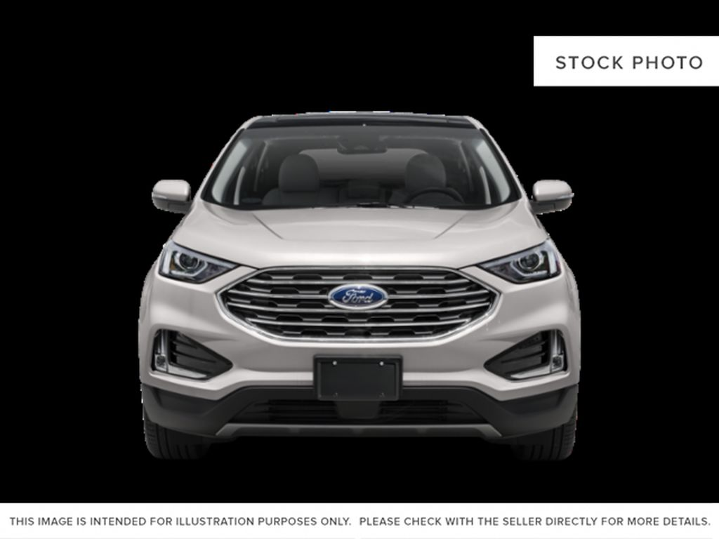 White[Oxford White] 2019 Ford Edge Front Vehicle Photo in Fort Macleod AB