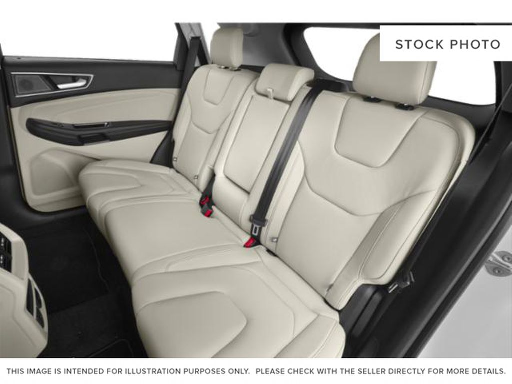 White[Oxford White] 2019 Ford Edge Left Side Rear Seat  Photo in Fort Macleod AB