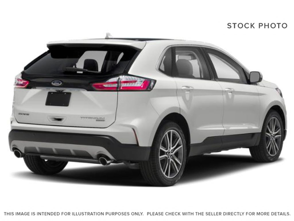 White[Oxford White] 2019 Ford Edge Right Rear Corner Photo in Fort Macleod AB