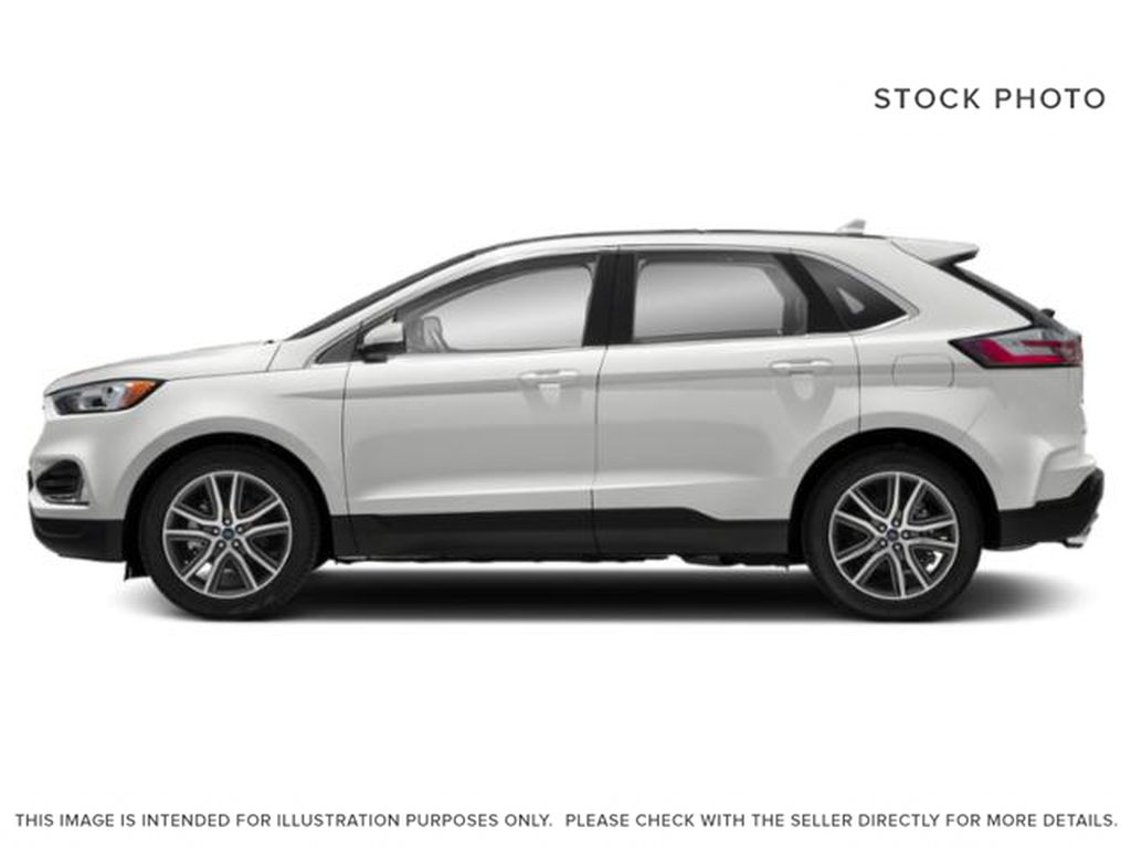 White[Oxford White] 2019 Ford Edge Left Side Photo in Fort Macleod AB