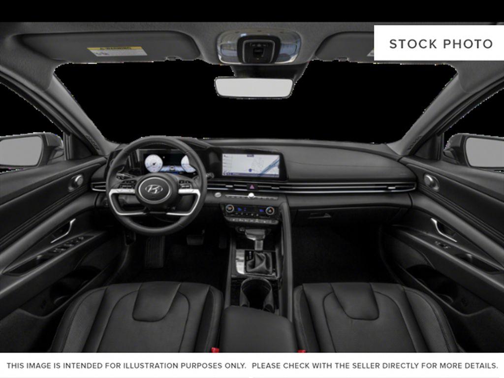 Gray[Cyber Grey] 2022 Hyundai Elantra Strng Wheel/Dash Photo: Frm Rear in Ottawa ON