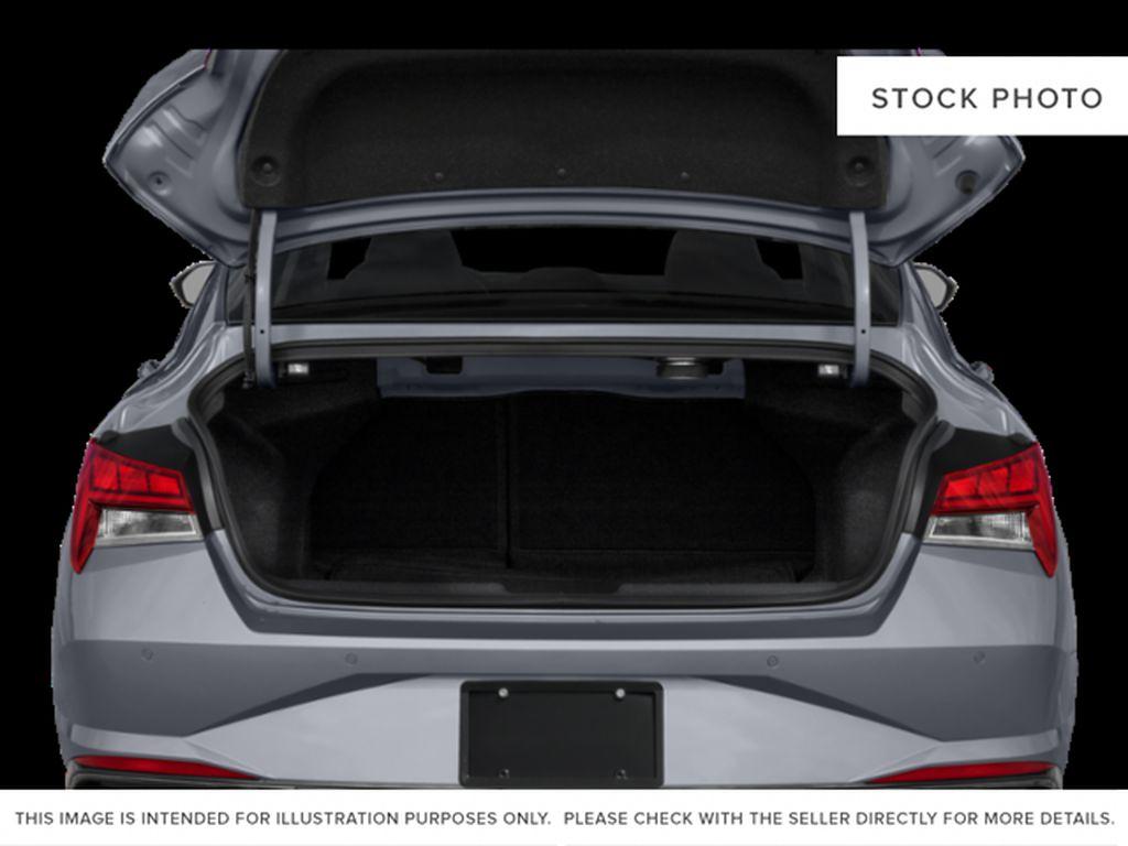 Gray[Cyber Grey] 2022 Hyundai Elantra Trunk / Cargo Area Photo in Ottawa ON