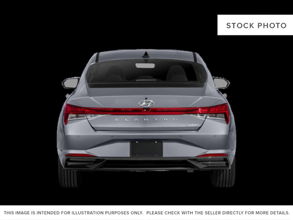 Gray[Cyber Grey] 2022 Hyundai Elantra Rear of Vehicle Photo in Ottawa ON