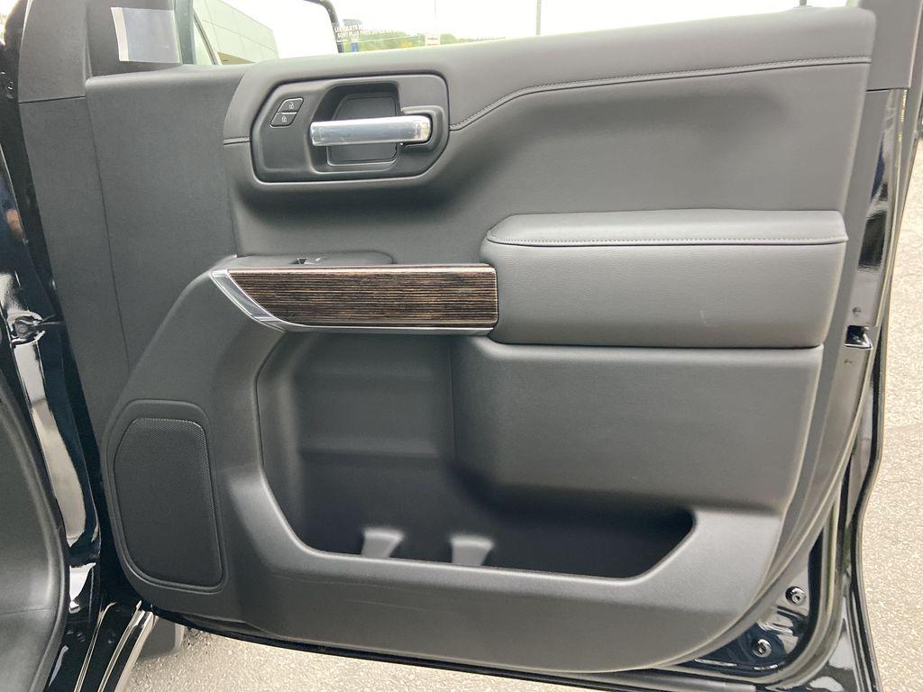 Black[Onyx Black] 2021 GMC Sierra 1500 AT4 Passenger Front Door Controls Photo in Calgary AB