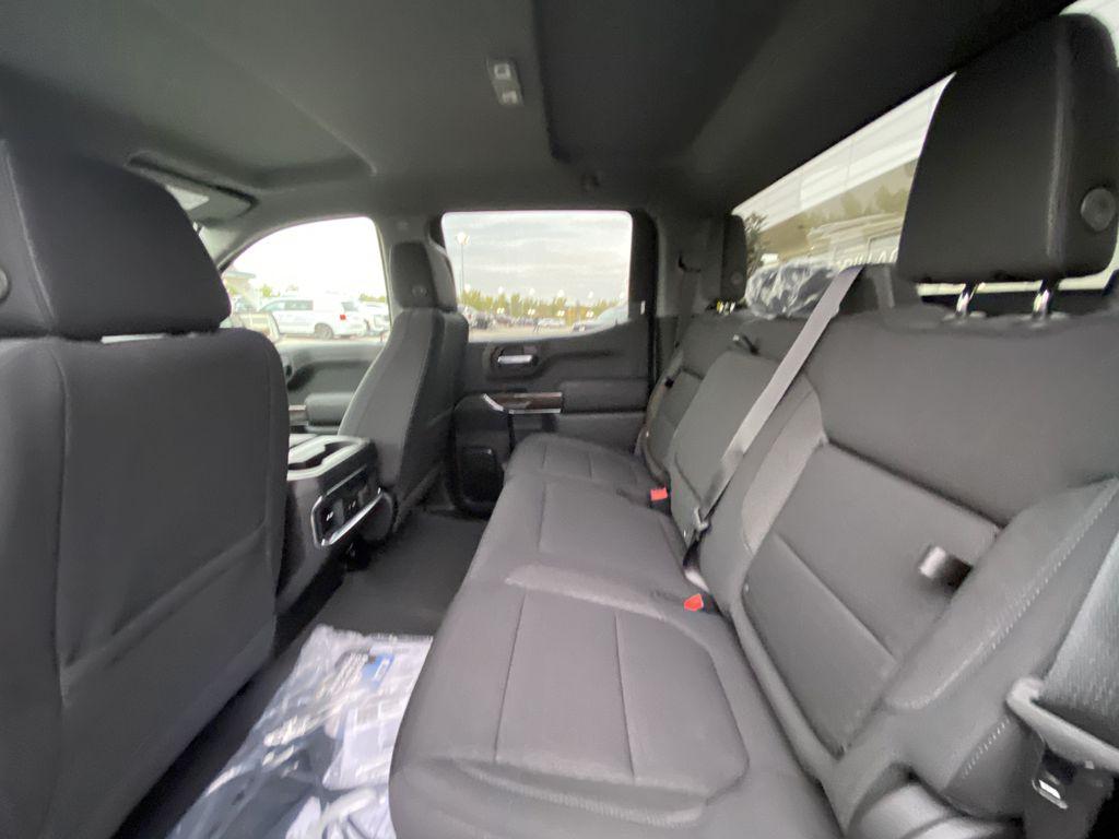 Black[Onyx Black] 2021 GMC Sierra 1500 AT4 Left Side Rear Seat  Photo in Calgary AB