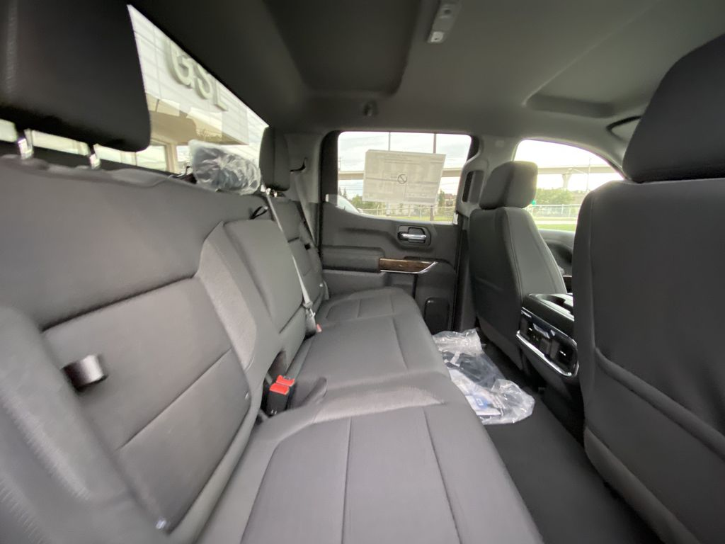 Black[Onyx Black] 2021 GMC Sierra 1500 AT4 Right Side Rear Seat  Photo in Calgary AB