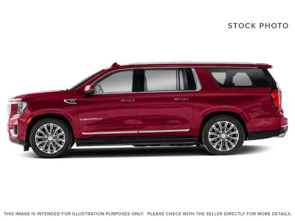 Blue[Midnight Blue Metallic] 2021 GMC Yukon XL AT4 Left Side Photo in Canmore AB