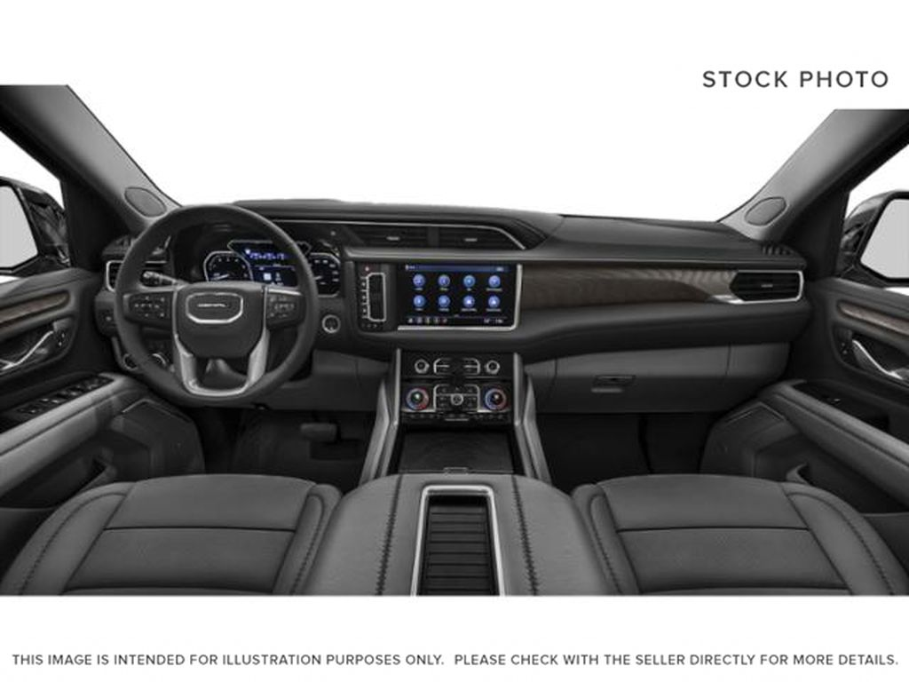 Blue[Midnight Blue Metallic] 2021 GMC Yukon XL AT4 Central Dash Options Photo in Canmore AB