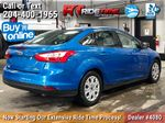 Blue[Blue Candy Tinted Clearcoat] 2014 Ford Focus SE Sedan - AUTO, Heated Seats, Bluetooth, LOW KMs Right Rear Corner Photo in Winnipeg MB