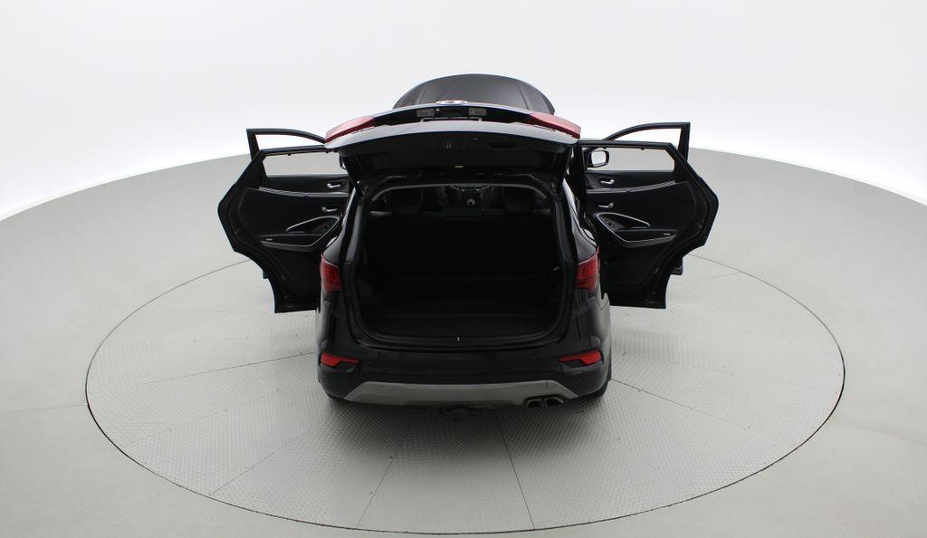 Black[Twilight Black] 2017 Hyundai Santa Fe Sport Limited 2.0T AWD - Panoramic Roof, Leather Rear of Vehicle Photo in Winnipeg MB