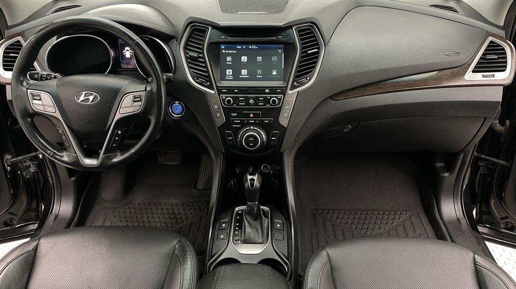 Black[Twilight Black] 2017 Hyundai Santa Fe Sport Limited 2.0T AWD - Panoramic Roof, Leather Central Dash Options Photo in Winnipeg MB
