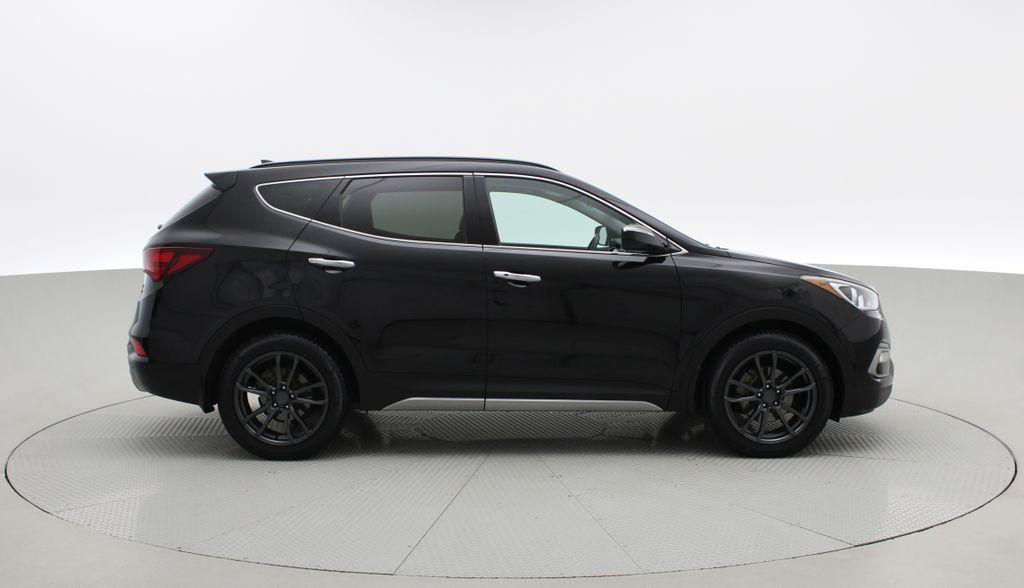 Black[Twilight Black] 2017 Hyundai Santa Fe Sport Limited 2.0T AWD - Panoramic Roof, Leather Right Side Photo in Winnipeg MB